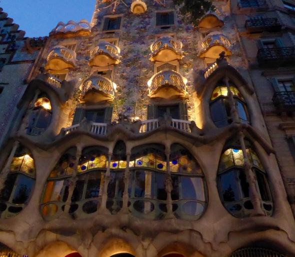 Gaudi designed building