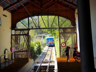 Funicular up to Tibidado mountain