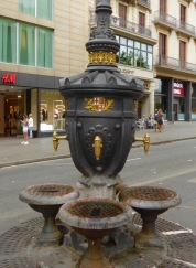 Drink from the fountain and always return to Barcelona